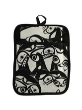 Load image into Gallery viewer, Bill Helin Many Whale Pocket potholder