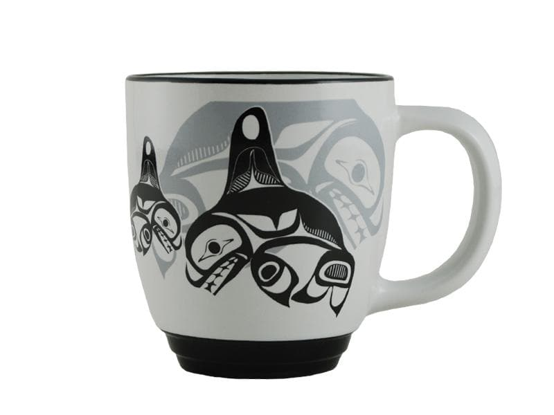 Bill Helin Many Whales Halo Mug