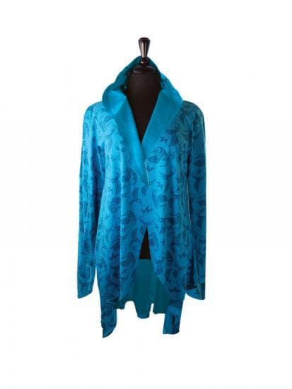 All Over Jacket BH Hummingbird Turquoise - M/L