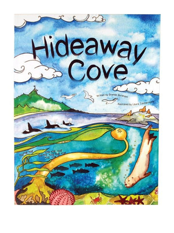 Hideaway Cove - hard cover book