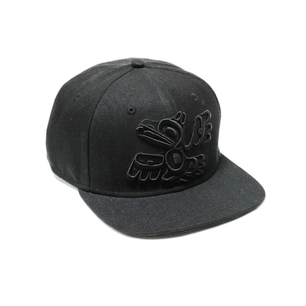 Snap Back Hats - Raven by Allan Weir
