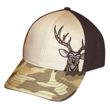 Load image into Gallery viewer, Stretch Fit Cap - Deer by Simone Diamond, M/L
