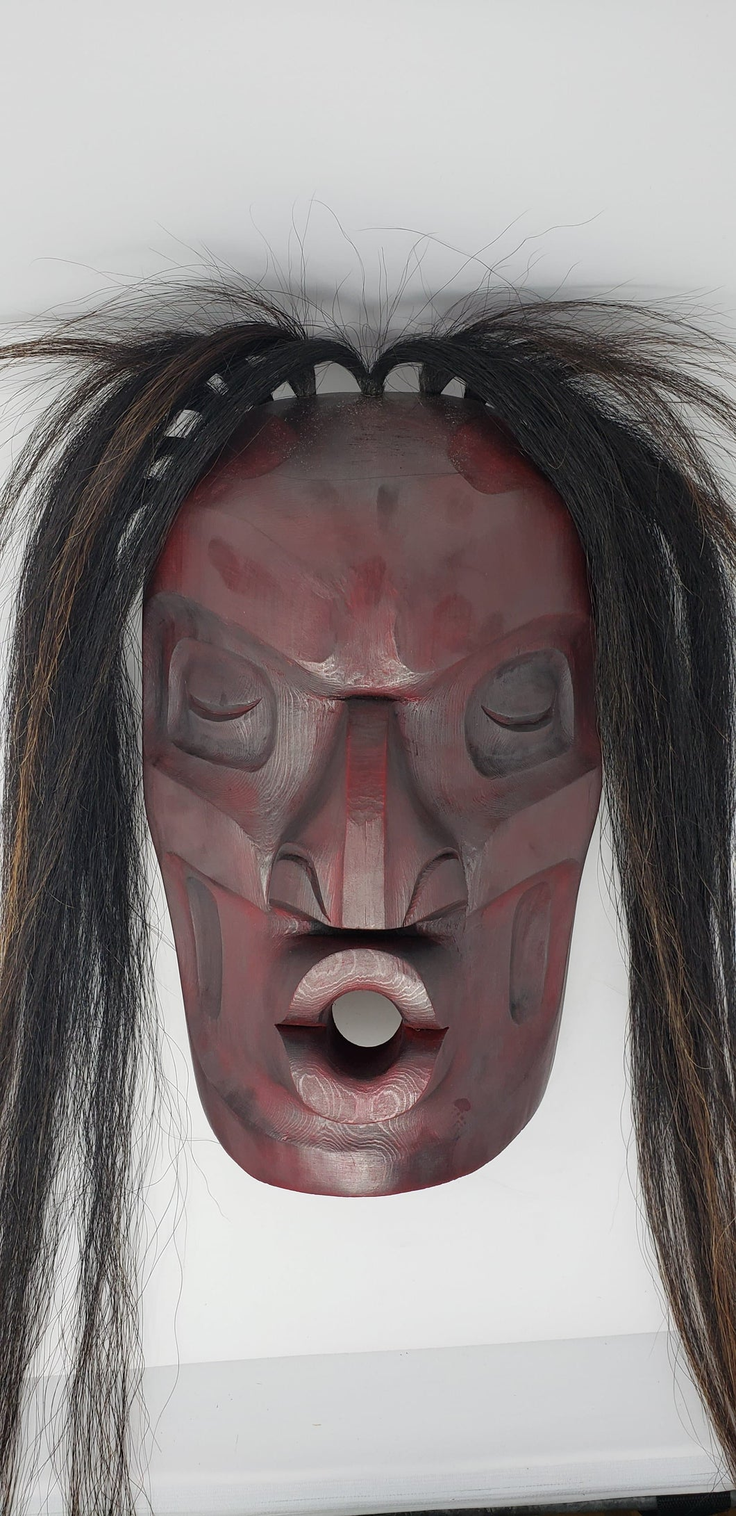 Dzunakwa Mask by Morris Johnny