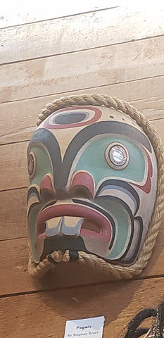 Pugwis Mask by Stephen Bruce