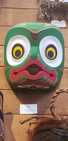 Frog Mask by Eddie Walkus