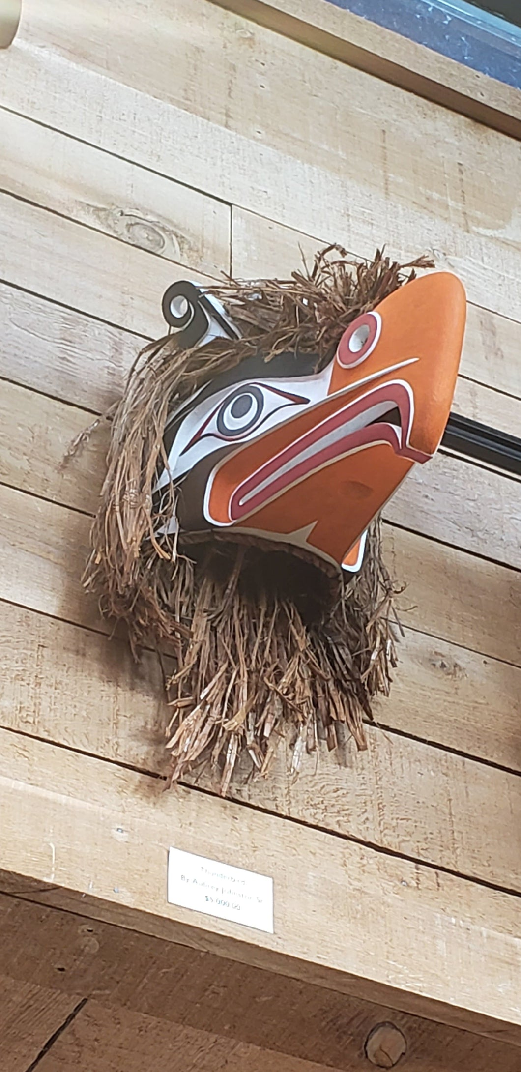 Thunderbird Mask by Aubrey Johnston Sr