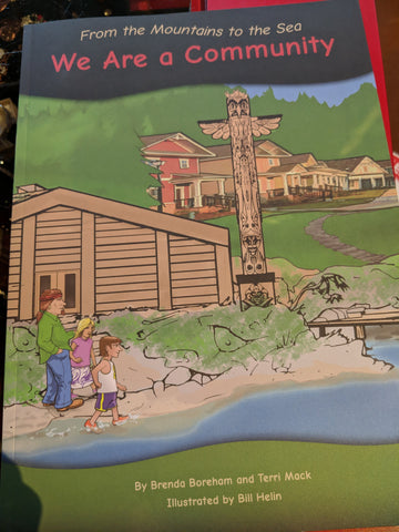 Large Book - We are a Community Grade 2
