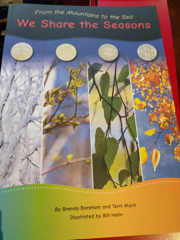 Large Book - We Share the Seasons Grade 1
