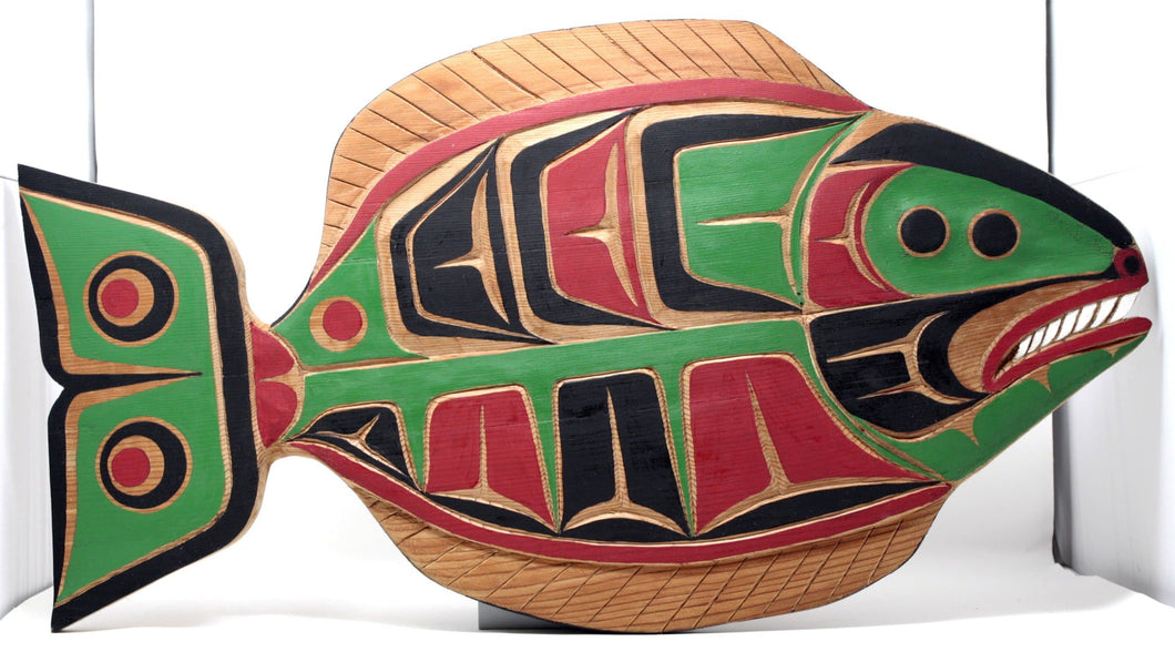 Halibut plaque by Don Alfred