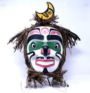 Half Moon Dancing Mask