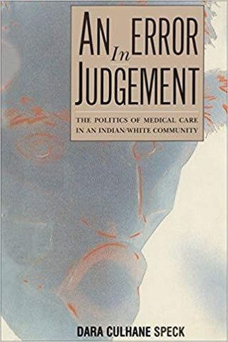 An Error in Judgement by Dara Culhane