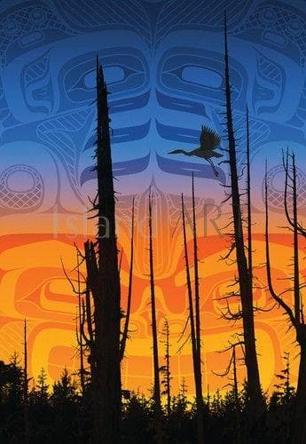 Art Card - Nimpkish Sunset - Andy Everson