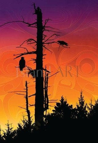 Art Card - Sunset Summit - Andy Everson