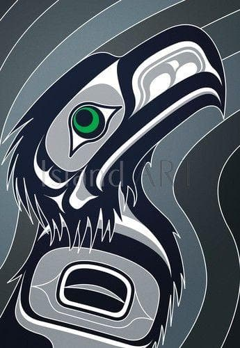 Seahawk Print - Andy Everson