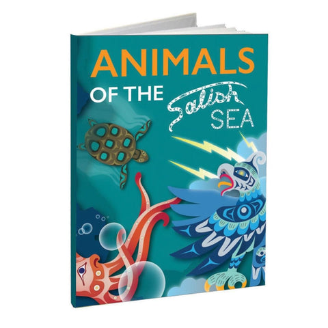 Hard Cover Book - Animals of the Salish Sea