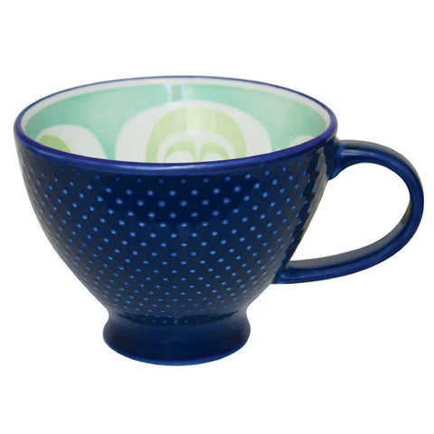 Porcelain Art Mug - Moon - Simone Diamond (Blue)