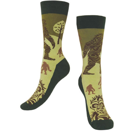 Art Socks - Sasquatch by Francis Horne Sr., S/M