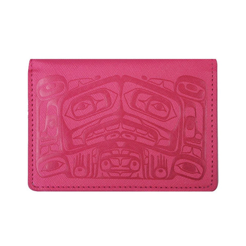 Card Wallet - Raven Box by Allan Weir, Pink