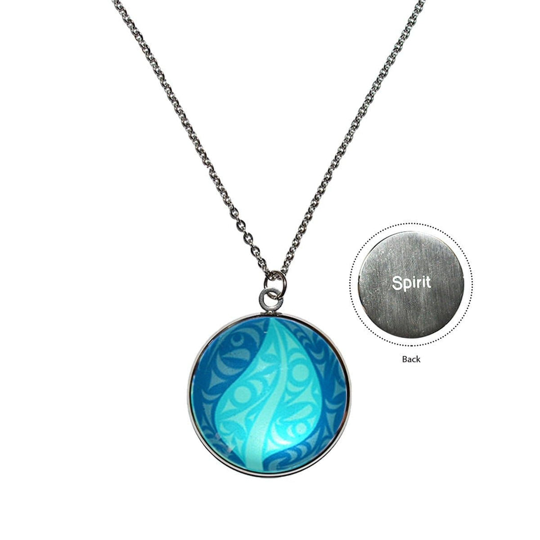 Eco Spirit Charm Necklace by Dylan Thomas