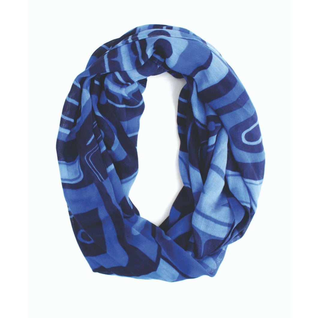 Circle Scarf - Inspiring the Future by Roger Smith