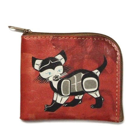 Coin Purse - Cat by Ben Housie