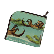Load image into Gallery viewer, Coin Purse - Otter by Ernest Swanson