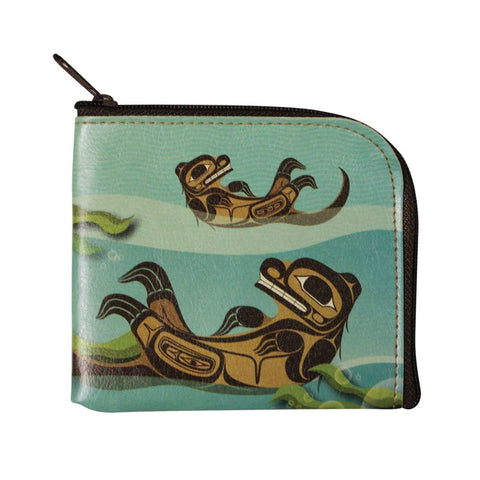 Coin Purse - Otter by Ernest Swanson