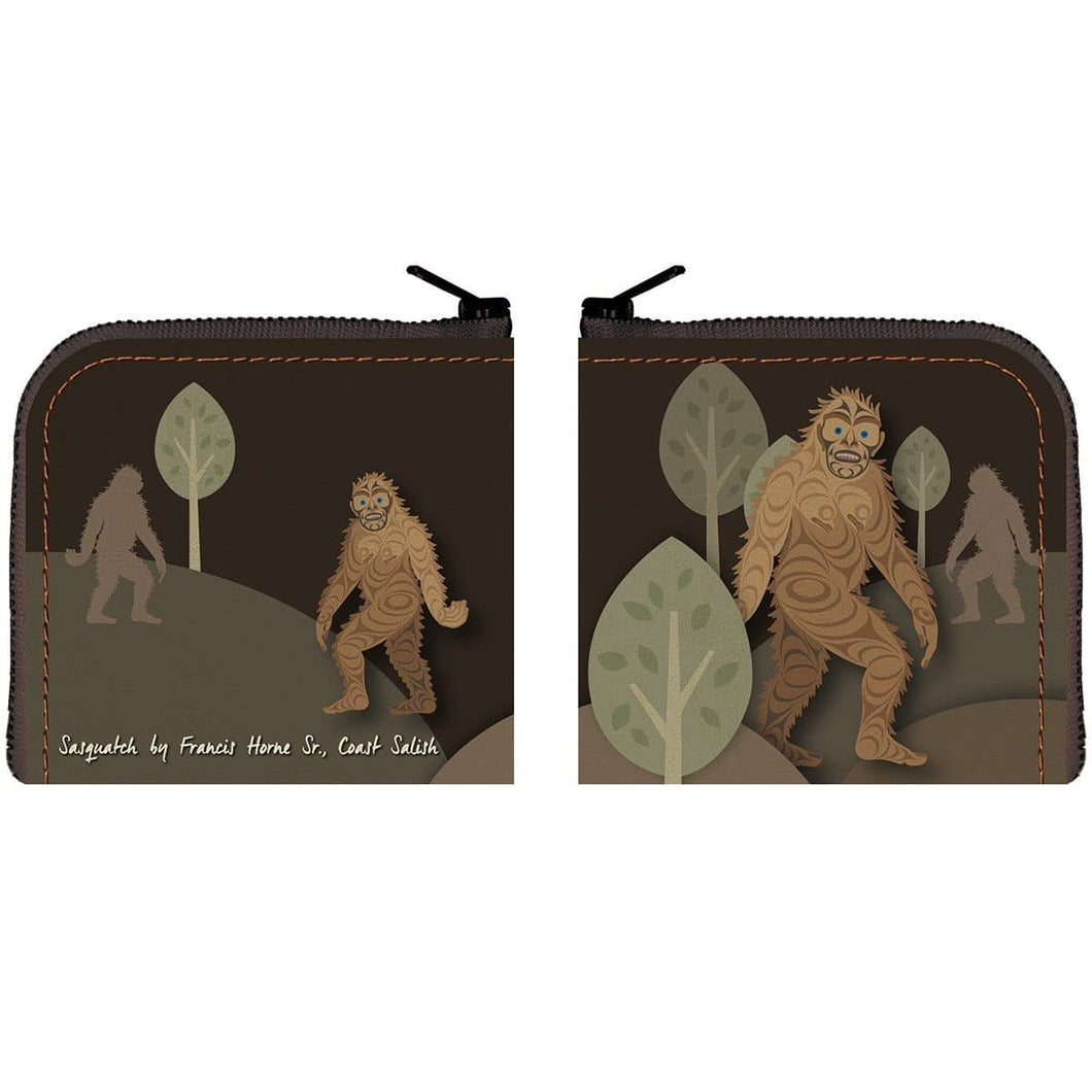 Coin purse - Sasquatch by Francis Horne Sr.