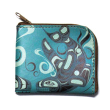 Load image into Gallery viewer, Coin Purse - Orca by Paul Windsor