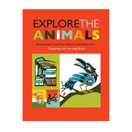 Colouring Book - Explore the Animals