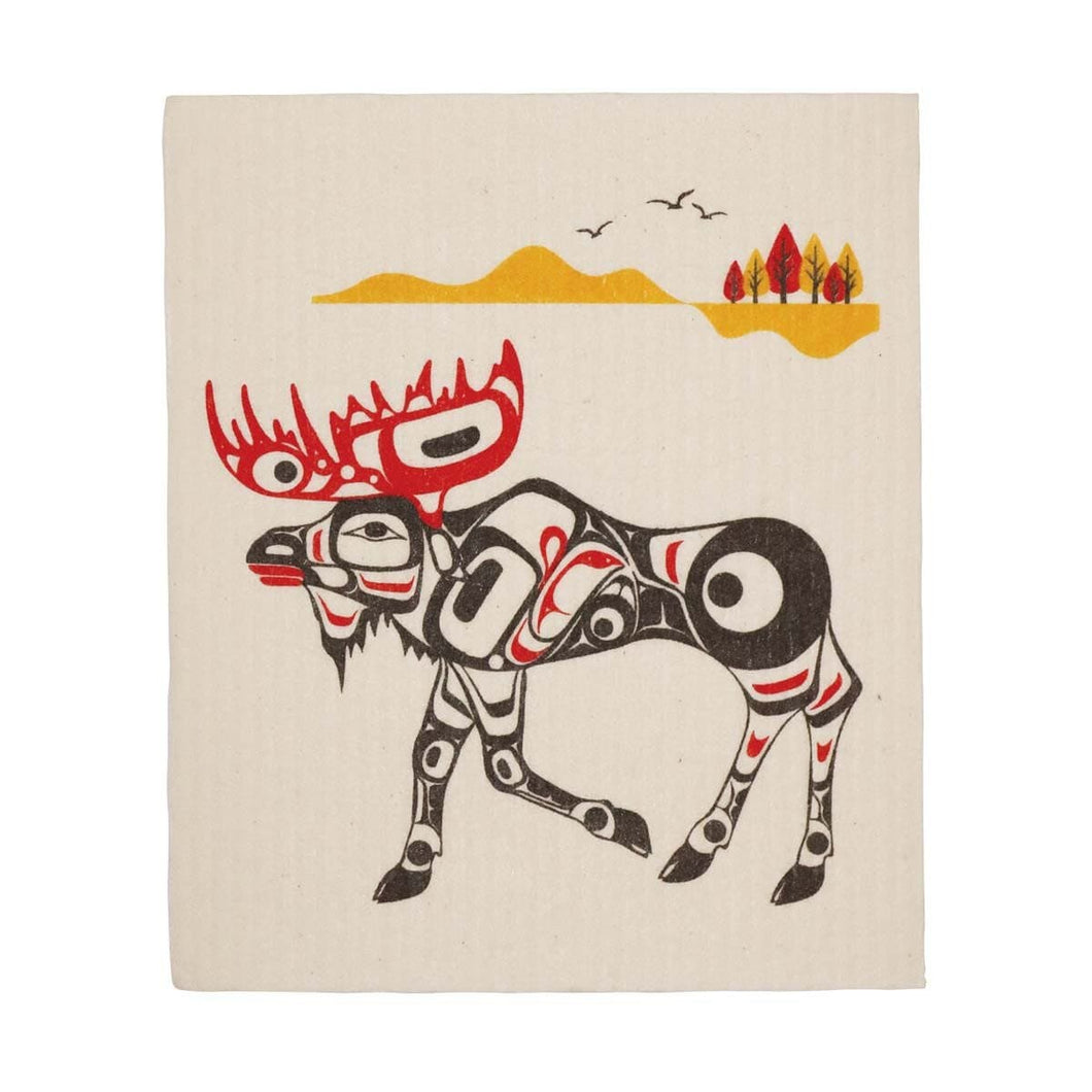 Eco Cloths - Moose by Terry Starr