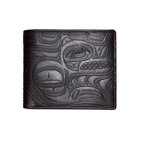 Embossed Wallets - Spirit Wolf