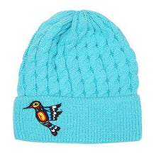 Load image into Gallery viewer, Francis Dick Hummingbird Embroidered Knitted Hat
