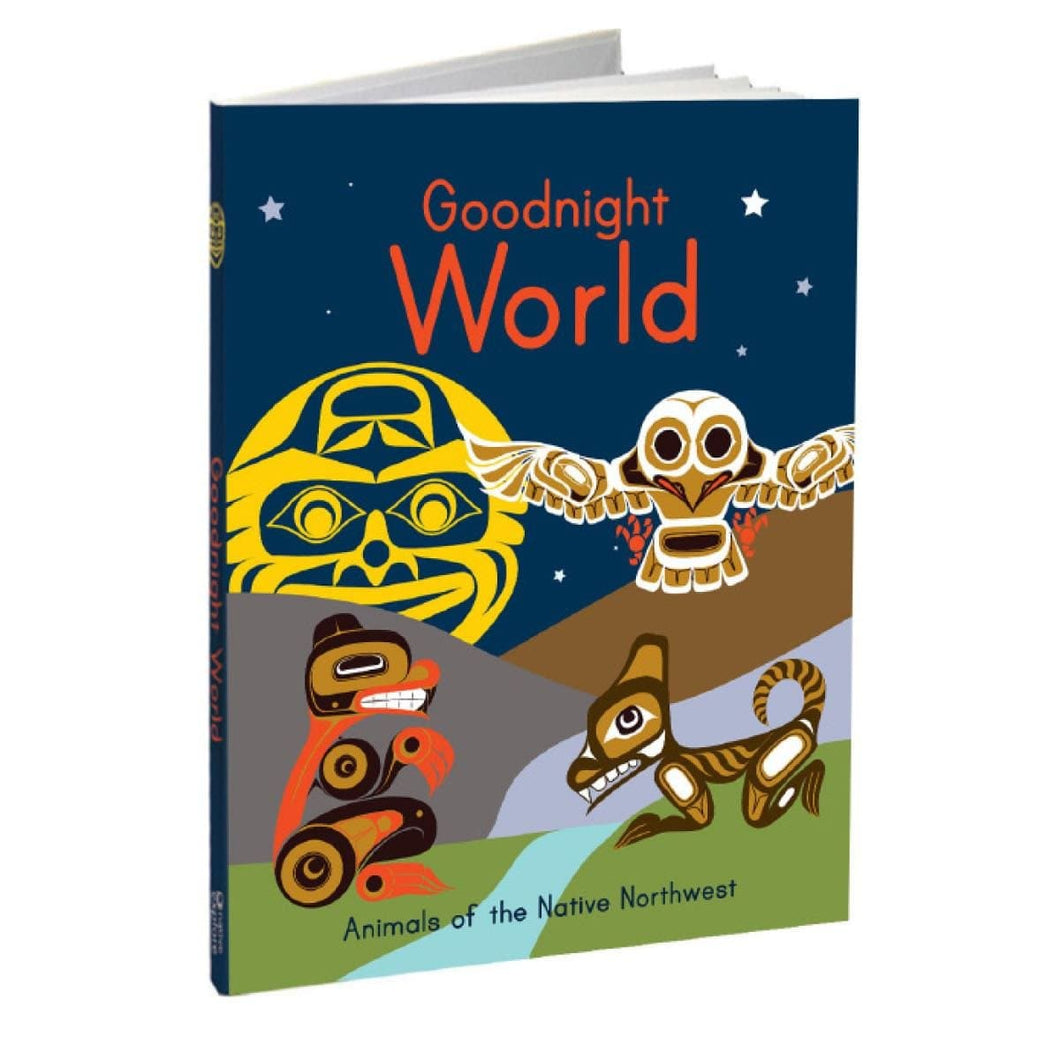 Hard Cover Book - Goodnight World