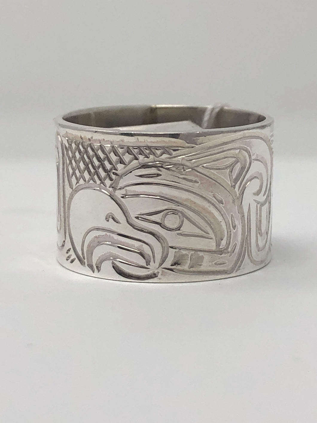 "1/2"" Thunderbird Ring - Size 7 By Billy Cook"
