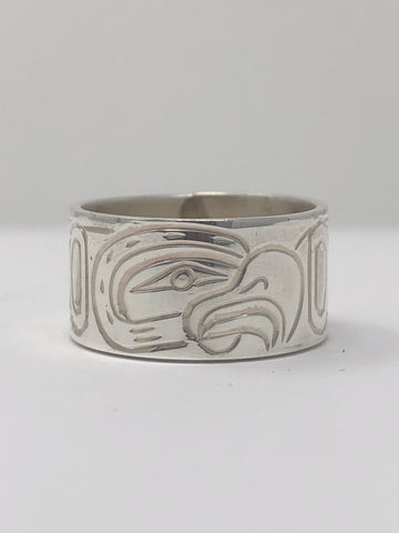 "3/8"" Eagle Ring - Size 7 By Billy Cook"