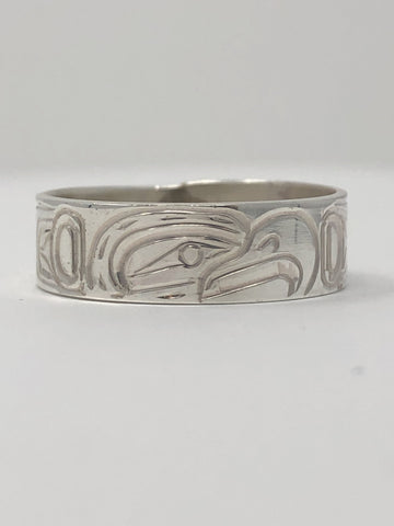 "1/4""Eagle Ring - Size 10 By Billy Cook"