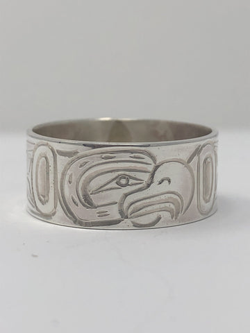 "3/8"" Eagle Ring - Size 11 By Billy Cook"