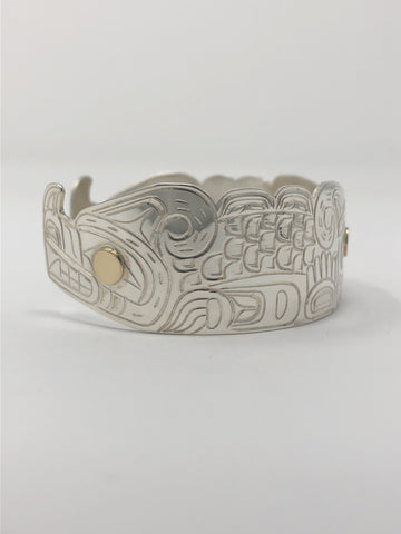 Gold on Silver Bracelet - Sisiult By Billy Cook