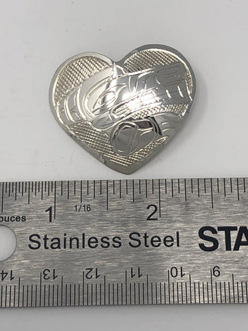 Small Heart pendant - Assrted - VAL