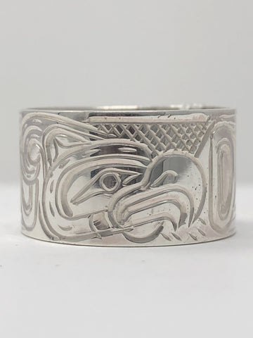 "1/2"" Thunderbird Ring - Size 11 By Billy Cook"