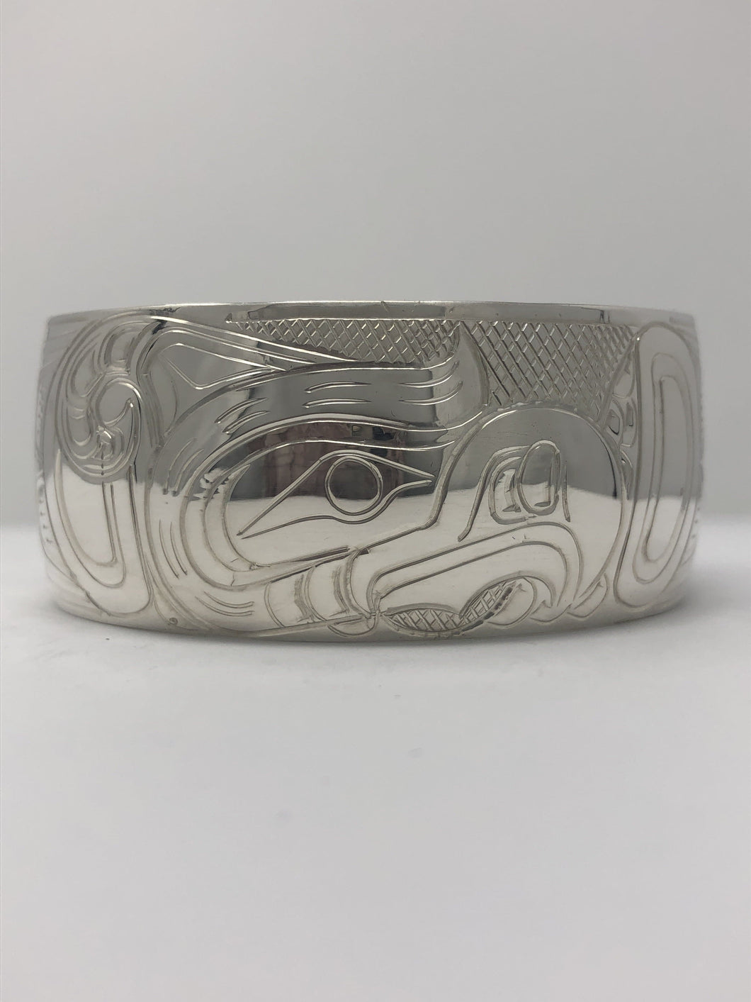 "1"" Thunderbird Bracelet By Billy Cook"