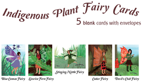 Art Cards: Neria Wildman - Indigenous Plant Fairy (Set of 5)