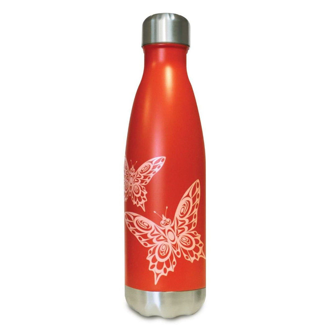 Insulated Bottle - Butterflies by Joe Wilson