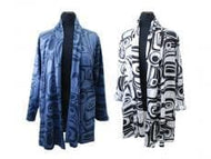 Kelly Robinson All Over Print Swing Coat Raven