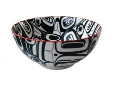 Kelly Robinson Raven Large Bowl Red/Black