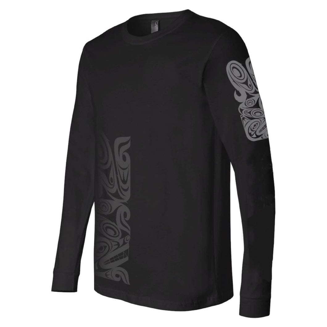 Long Sleeve Shirt - Urban Wolf by Maynard Johnny Jr