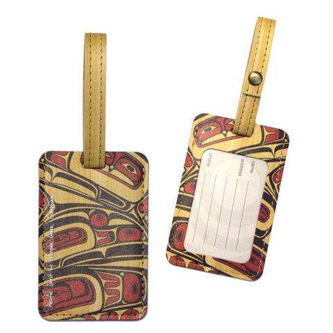 Luggage Tag - Pacific Spirit by Morgan Asoyuf