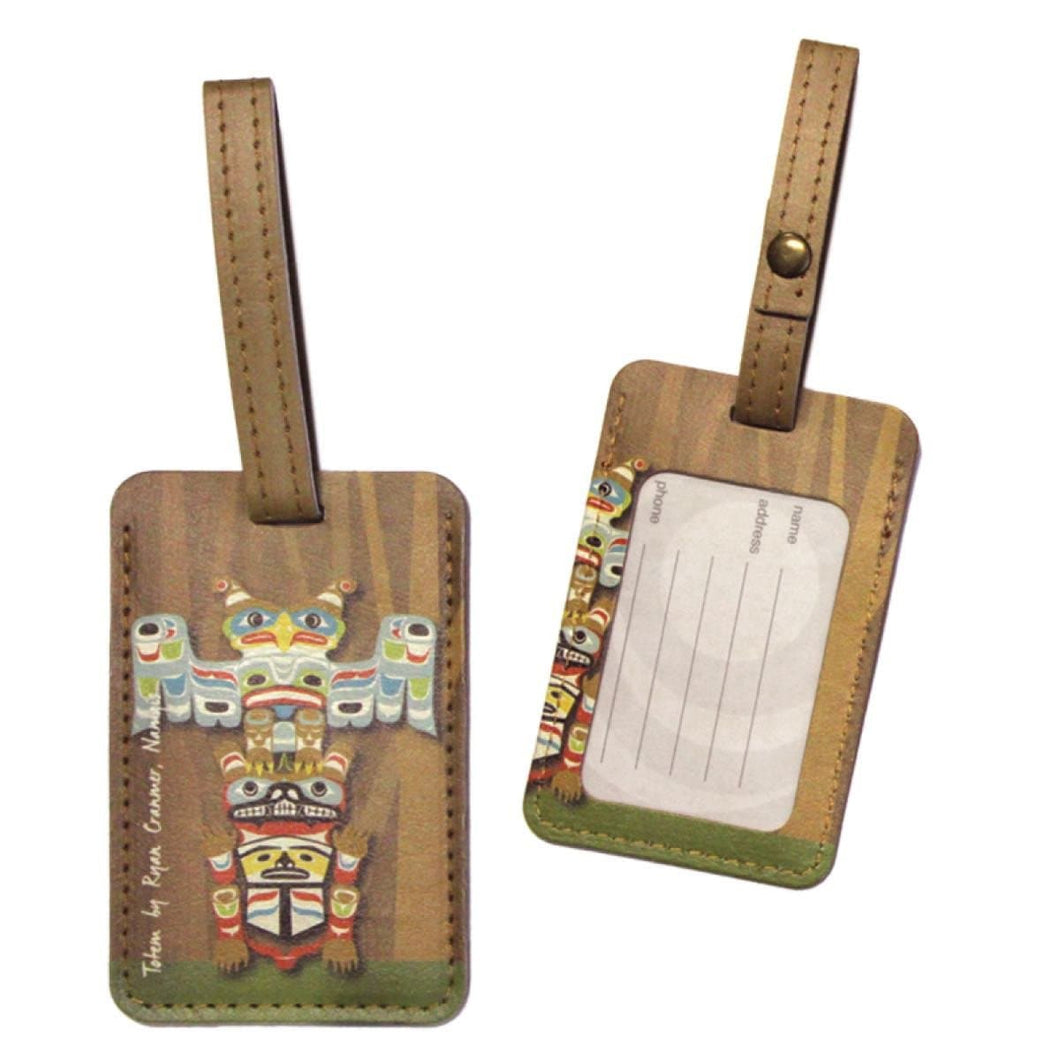 Luggage Tag - Totem by Ryan Cranmer