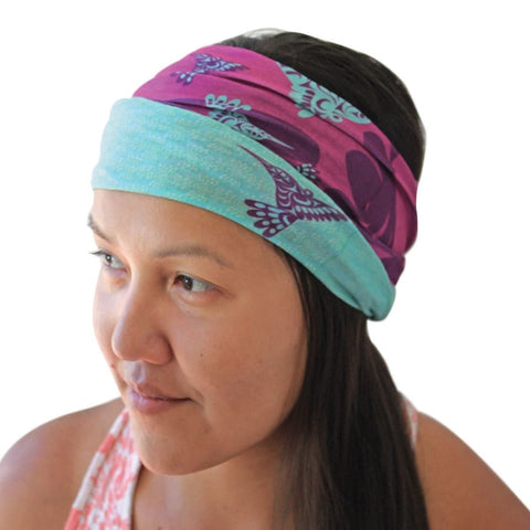 Multifunctional headwear - Hummingbird, Joe Wilson-Sxwaset